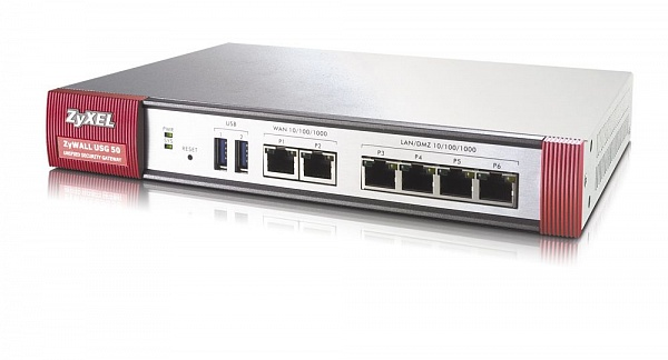Межсетевой экран Zyxel ZyWALL USG 60 Шлюз безопасности для малого офиса