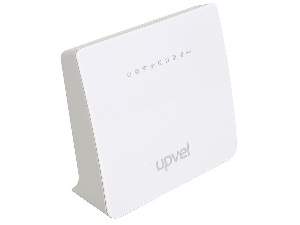 Картинка для Маршрутизатор UPVEL UR-329BNU 2,4 ГГц, 802.11b/g/n, 1 порт WAN 10/100 Мбит/с + 4 порта LAN 10/100 Мбит/с, 2 внутренние 3 дБи антенны, поддержка PPTP/L