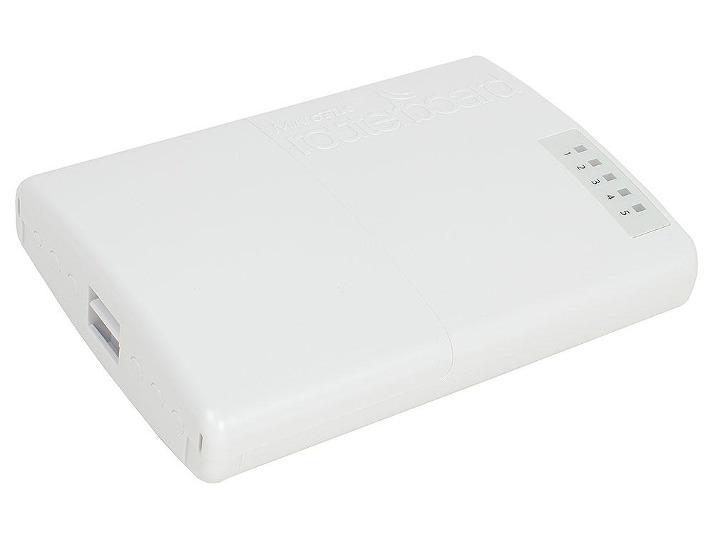 Маршрутизатор MikroTik RB750P-PBr2 PowerBOX r2 802.11n 300Mbps 2.4 ГГц 5xLAN PoE белый все цены