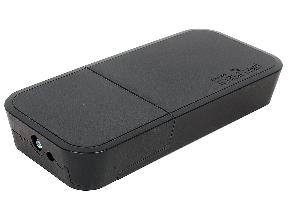Точка доступа MikroTik RBwAPG-5HacT2HnD-BE wAP АС 802.11ac 2.4ГГц и 5ГГц черный точка доступа mikrotik rbwap2nd