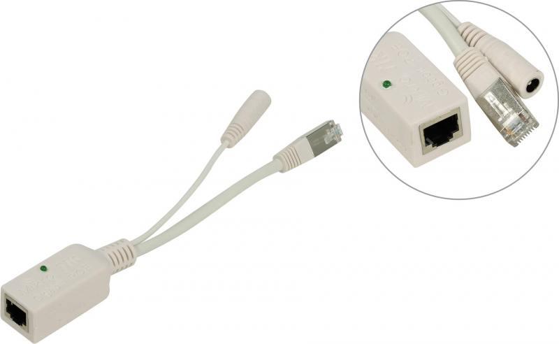 Инжектор питания MikroTik RBGPOE Gigabit PoE 9-48V 10/100/1000Base-TX инжектор poe mikrotik rbpoe