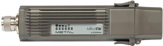 Точка доступа MikroTik RBMetalG-52SHPacn 2.4/5GHz 802.11a/b/g/n/ac wireless, RouterOS L4, metal case, mounting loops, PoE, PSU, Omni antenna tenda wifi range extender a15 wlan 750mbps 2 4 5ghz 802 11ac 2x ext antenna