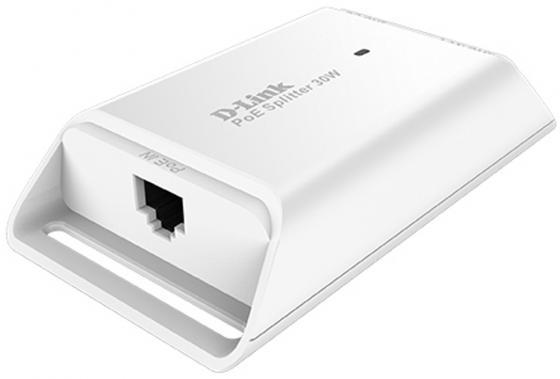 PoE-адаптер D-Link DPE-301GS/A1A Гигабитный PoE-адаптер (выходное напряжение 5/9/12В DC) адаптер poe levelone por 1100