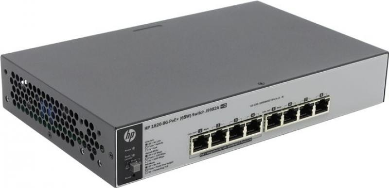 Коммутатор HP 1420 JH330A Коммутатор HP HPE 1420 8G PoE+ (64W) Switch hp 1820 8g j9979a