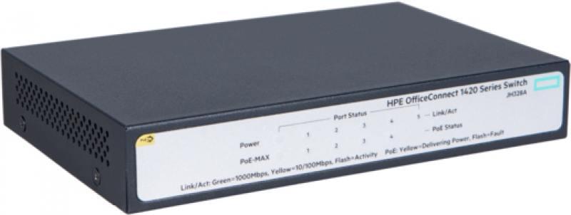 Коммутатор HP JH328A HPE 1420 5G PoE+ (32W) Switch телефон 5g