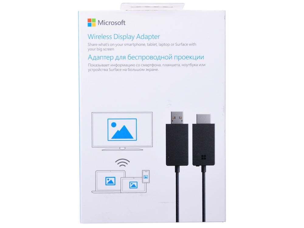 Беспроводной видеоадаптер Microsoft Wireless Display Adapter 2 USB-HDMI P3Q-00022 фото