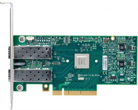 Сетевой адаптер Mellanox MCX312C-XCCT 10/100Mbps цена и фото