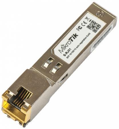 Модуль Mikrotik S-RJ01 RJ45 SFP 10/100/1000M copper module