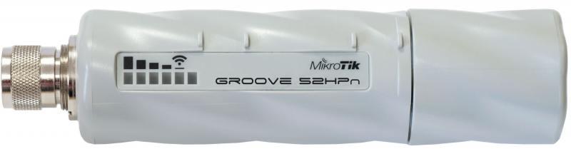 все цены на Беспроводная точка доступа MikroTik Groove A-52HPn 802.11abgn, 125Mbps, 2.4/5GHz, 1xLAN онлайн