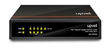 Коммутатор UPVEL UP-215SGE 5-портовый гигабитный каскадируемый PoE+ коммутатор, 5 портов 10/100/1000 Мбит/с, 4 порта PoE+, каждый PoE порт обеспечивае