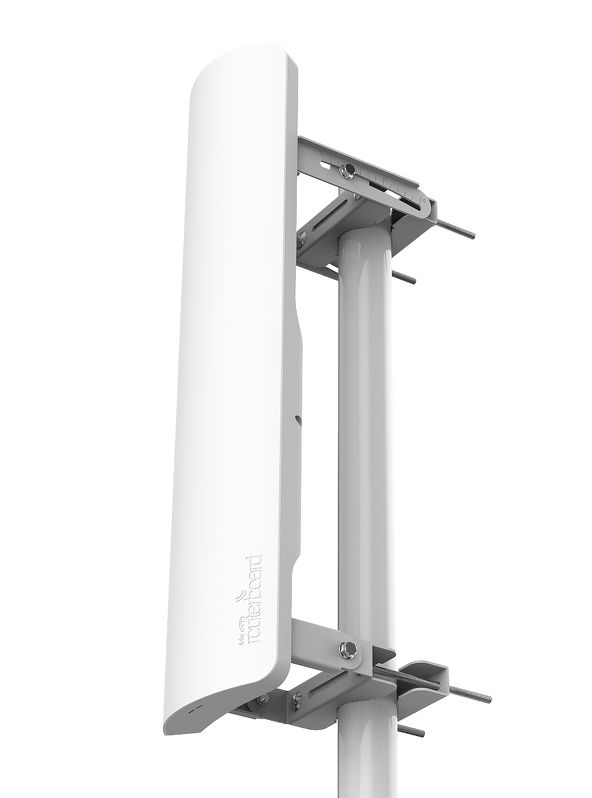 Точка доступа MikroTik RB921GS-5HPacD-19S mANTBox 19s with 19dBi 5GHz 120 degree sector antenna, Dual Chain 802.11ac wireless, 720MHz CPU, 128MB RAM,
