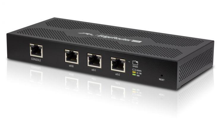 Маршрутизатор Ubiquiti ERLite-3(EU) EdgeRouter Lite, 3-port Router ubiquiti erlite 3