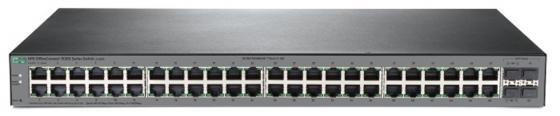 лучшая цена Коммутатор HP JL386A HPE 1920S 48G 4SFP PPoE+ 370W Swch