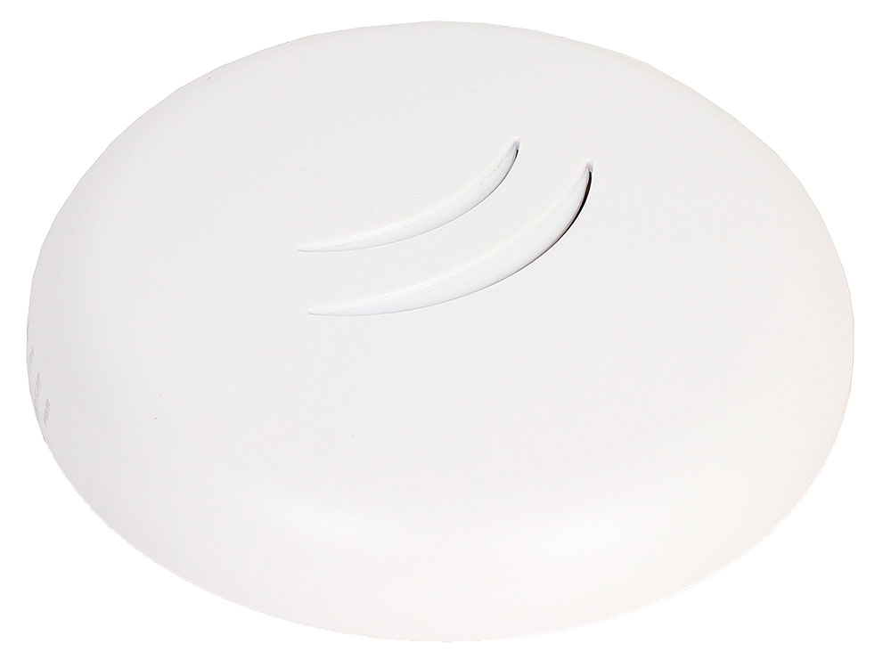 Точка доступа MikroTik  RBcAPL-2nD cAP lite  with AR9533 650MHz CPU, 64MB RAM, 1xLAN, built-in 2.4Ghz 802.11b/g/n Dual Chain wireless with 1.5dBi inte
