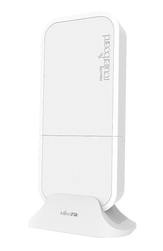 Точка доступа MikroTik RBwAPR-2nD wAP R with 650MHz CPU, 64MB RAM, 1xLAN, built-in 2.4Ghz 802.11b/g/n Dual Chain wireless with integrated antenna, mi