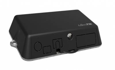 Точка доступа MikroTik RB912R-2nD-LTm LtAP mini with 650MHz CPU, 64MB RAM, 1xLAN, built-in 2.4Ghz 802.11b/g/n Dual Chain wireless with integrated ante