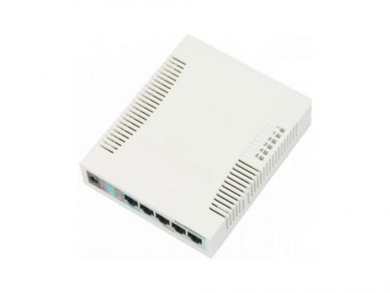 Коммутатор MikroTik RouterBoard 260GS 5 портов 10/100/1000Mbps коммутатор osnovo sw 60802 ic 8 портов 10 100 1000mbps