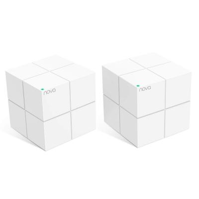 Усилитель сигнала Tenda nova MW6-2 AC1200 Домашняя Mesh WiFi система с 2мя Гигабитными портами. Поддерживает работу в двух диапазонах 2,4 ГГц и 5 ГГ wifi роутер tenda nova mw3 3