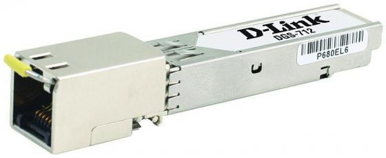 цена на SFP-трансивер D-LINK 712/A1A SFP-трансивер с 1 портом 1000Base-T (до 100 м)