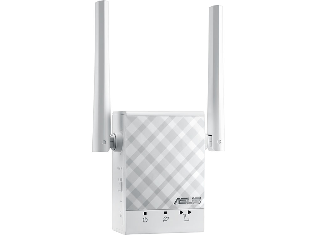 цена на ASUS RP-AC51 // WI-FI репитер, 802.11n + 802.11 ac, до 300 + 433Мбит/c, 2,4 + 5 гГц, LAN ; 90IG03Y0-