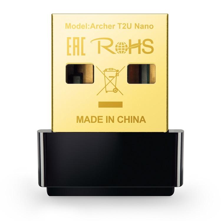 Адаптер TP-LINK Archer T2U NANO AC600 Nano Wi-Fi USB-адаптер