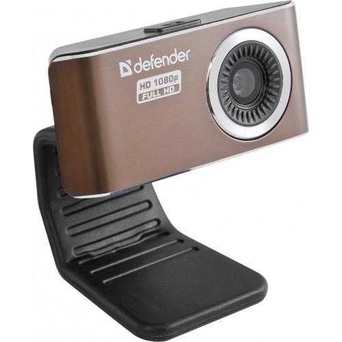 Веб-камера Defender G-lens 2693 HD 2Мп, 1920x1080, 56 градусов, микрофон, USB цена в Москве и Питере