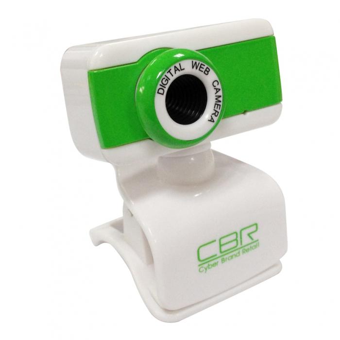 Камера интернет CBR CW-832M Green, универс. крепление, 4 линзы, 1,3 МП, эффекты, микрофон, недорго, оригинальная цена