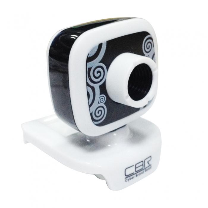 Веб-камера CBR CW-835M HD Black 1.3Мп, 1280x1024, микрофон, USB веб камера 60fps