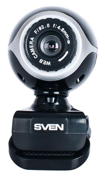 Веб-камера Sven IC-300 0.3Мп, 640x480, микрофон, USB веб камера 60fps