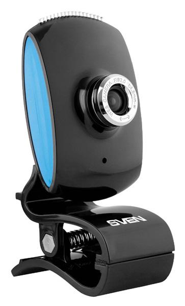 Веб-камера Sven IC-350 0.3Мп, 640x480, микрофон, USB веб камера 60fps