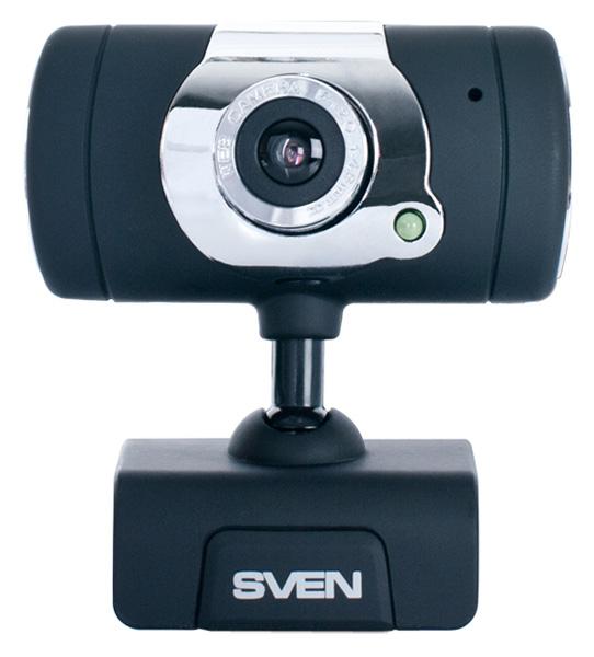 Веб-камера Sven IC-525 0.3Мп, 640x480, микрофон, USB веб камера philips spc230nc