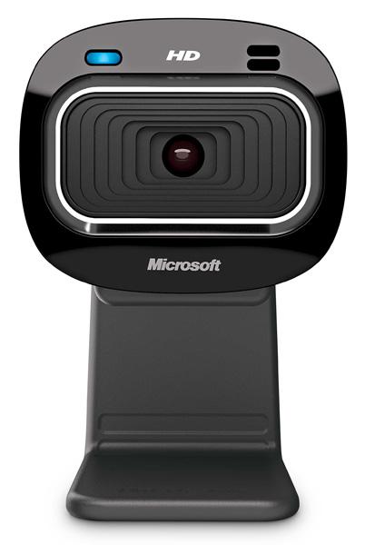 Веб-камера Microsoft LifeCam HD-3000 HD 1.3Mп, 1280x720, 68.5 градусов, микрофон, USB, T3H-00013