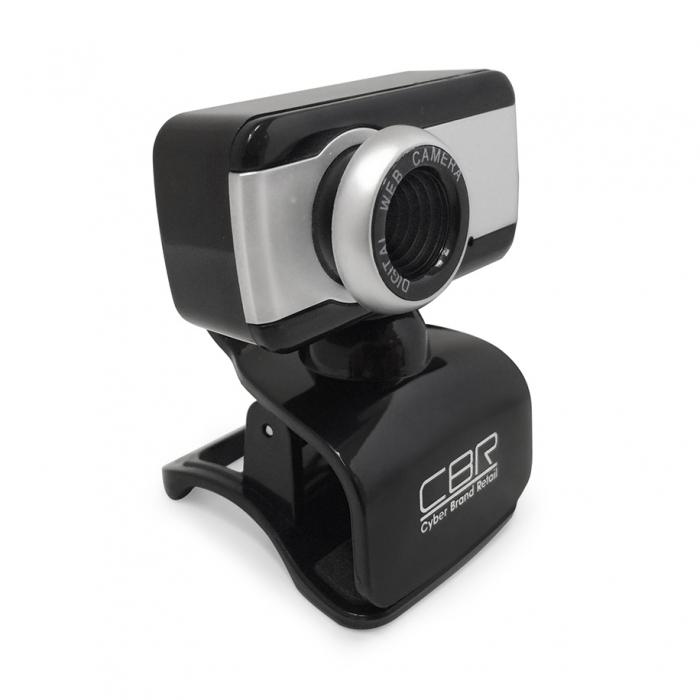 Веб-камера CBR CW-832M Silver 1.3Мп, 1280x1024, микрофон, USB веб камера екатеринбург площадь 1905