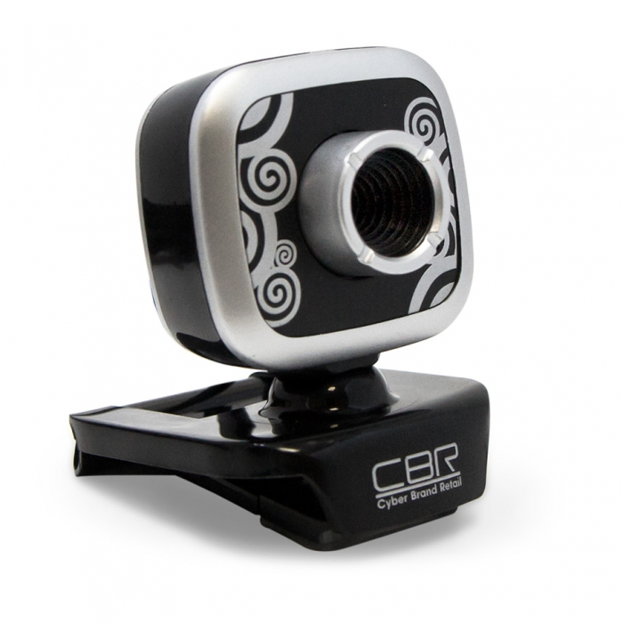 Веб-камера CBR CW-835M HD Silver 1.3Мп, 1280x1024, микрофон, USB веб камера 60fps