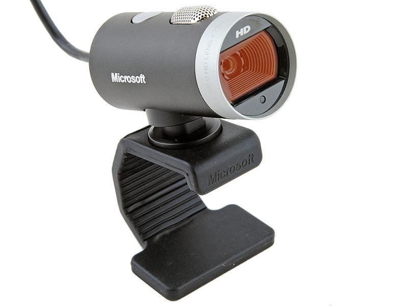 Веб-камера Microsoft Lifecam Cinema HD 1.3Мп, 1280x720, 73 градуса, микрофон, USB веб камера microsoft lifecam studio 5wh 00002