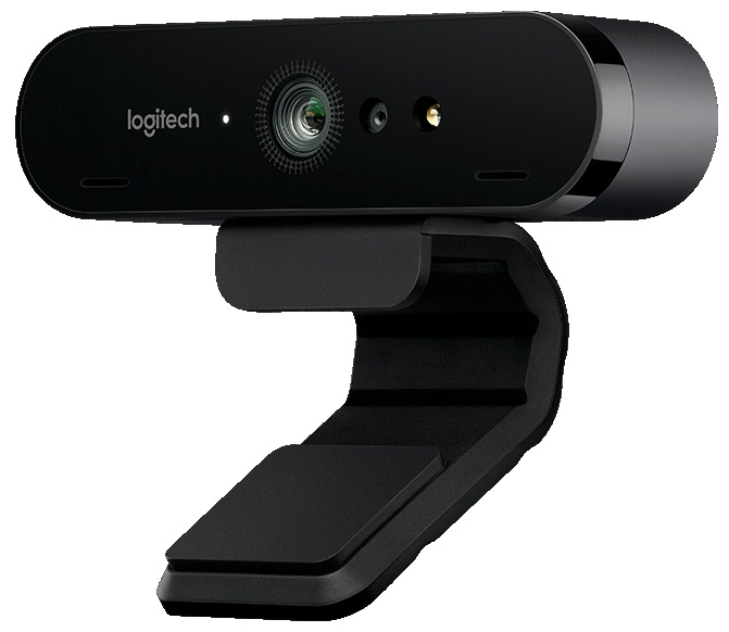 Веб-камера Logitech Webcam BRIO 4K 4096x2160, 90 градусов, микрофон, подсветка, USB веб камера sweex