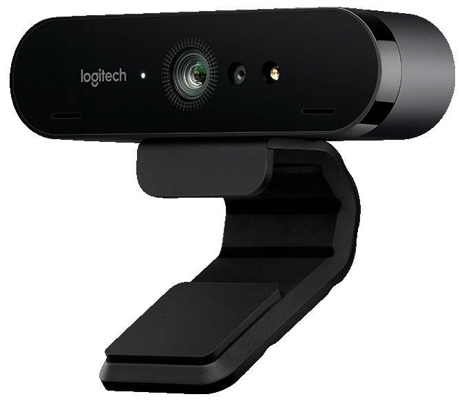 Веб-камера Logitech Webcam BRIO 4K 4096x2160, 90 градусов, микрофон, подсветка, USB n82 как веб камера