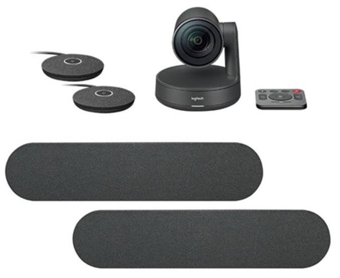лучшая цена Система для видеоконференций Logitech Rally Plus 8 МПикс, 3840x2160, Автофокусировка