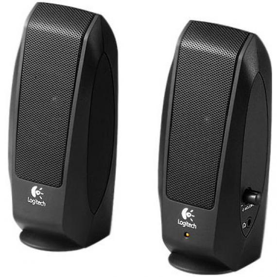 Колонки (980-000010) Logitech S120 (2.0) Black 980 000742 logitech mobile speakerphone p710e