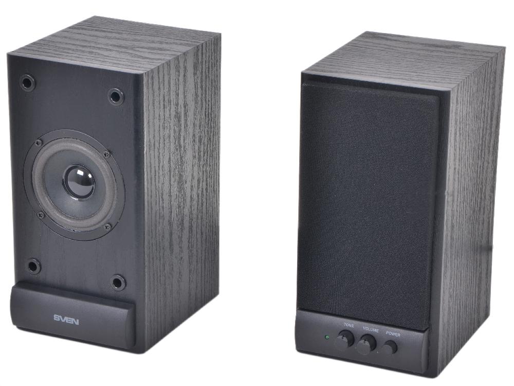 Колонки Sven SPS-609 (10 Вт), черный колонки sven 355 черный [sv 0110355bk]