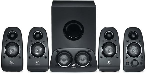 Колонки (980-000431) Logitech Z506 (5.1) 980 000742 logitech mobile speakerphone p710e