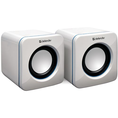 цена на Колонки Defender SPK-530 White 2x2W, USB интерфейс