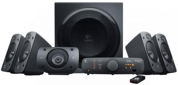 Колонки (980-000468) Logitech Surround Sound Speakers Z906 портативная акустика logitech mx sound premium bluetooth speakers черный 980 001283