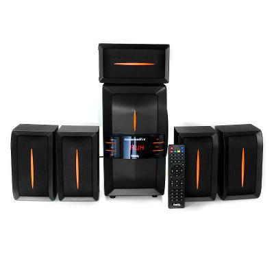 Колонки Dialog Progressive AP-540 BLACK - 5.1, 40W+5*12W RMS, USB+SD reader колонки dialog melody am 11b 2x3вт rms пластик черный