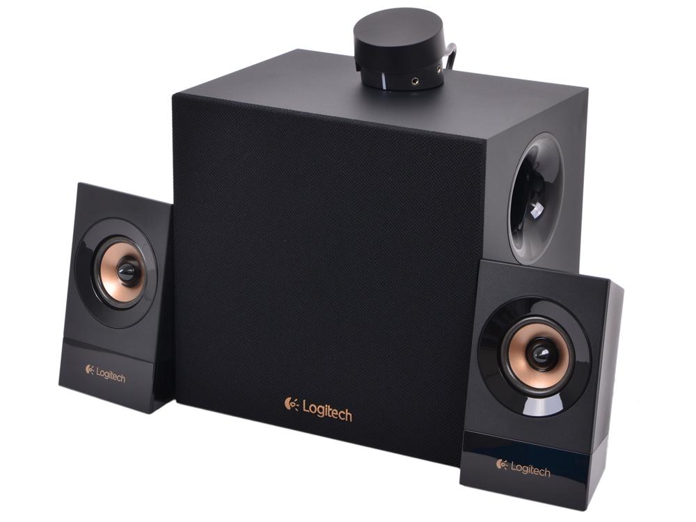 Колонки (980-001054) Logitech Z533 (2.1) Black 980 000742 logitech mobile speakerphone p710e