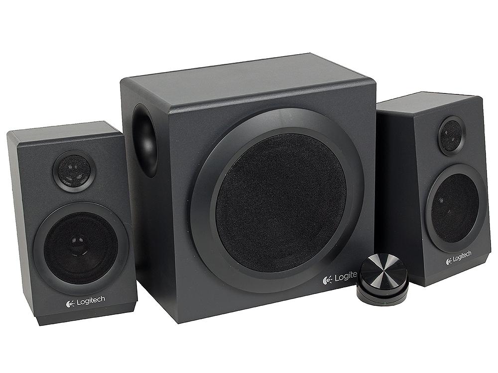 лучшая цена Колонки (980-001202) Logitech Z333 (2.1) Black