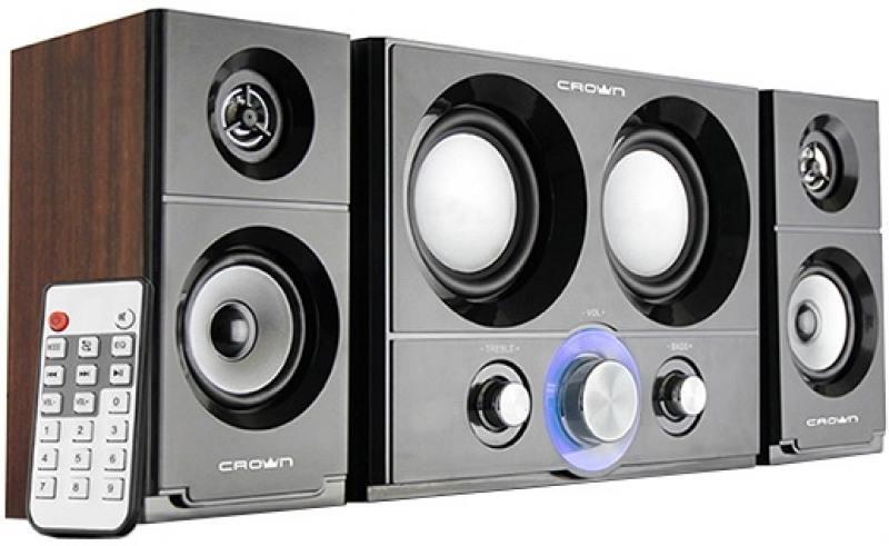 Колонки Crown CMS-3800 36Вт акустическая система crown cms 601