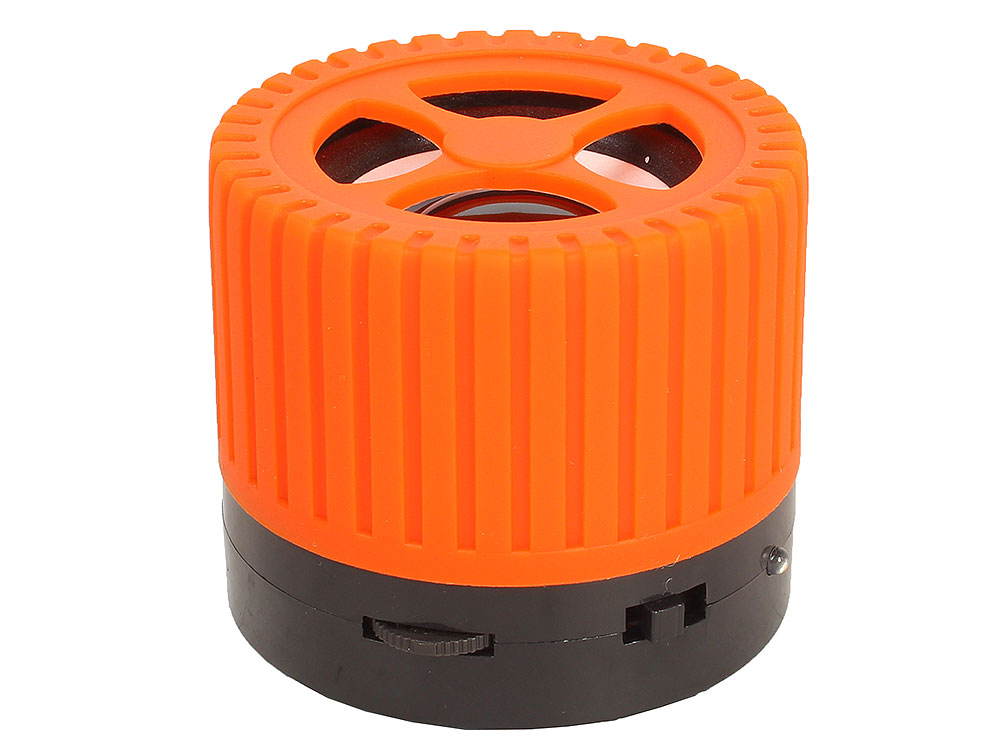 лучшая цена Беспроводная BT-Колонка GINZZU GM-988O, bluetooth, 3W/TFcard/AUX/FM, оранжевый