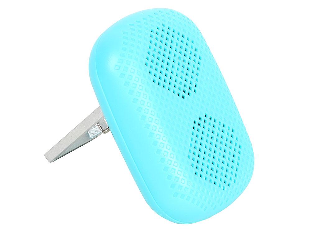 цена на Портативная колонка Harper PS-041 Blue Беспроводная акустика / 2 Вт / 20 - 20000 Гц / Bluetooth
