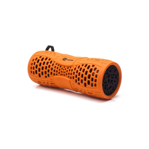 Беспроводная BT-Колонка HARPER PS-045 orange (Bluetooth/Влагозащита IPX6/до 7 часов/2x3 Вт/микрофон) цена и фото
